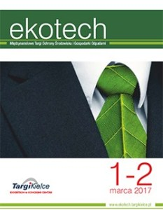 XVIII Międzynarodowe Targi Ochrony Środowiska i Gospodarki Odpadami EKOTECH, Kielce