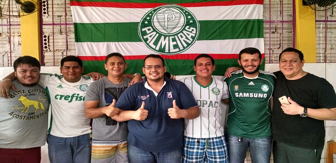 Palmeiras: torcida é criada em Sena