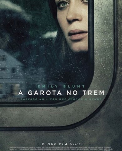 "Poster for the movie ""A Rapariga no Comboio"""