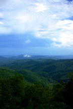 Scenery on Blue Ridge Parkway
