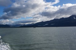 Views in boat in Seward, Alaska
