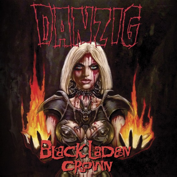 Danzig - Black Laden Crown - Artwork