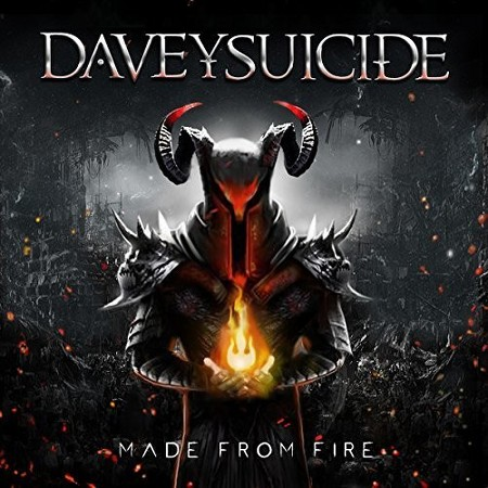 Davey Suicide - Made From Fire - Album Cover