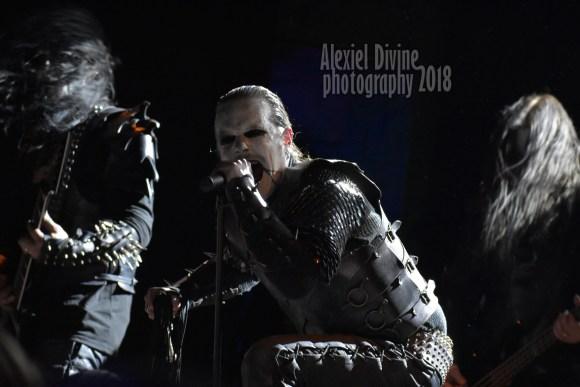 Dark Funeral live in Chicago