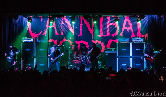 Cannibal Corpse Live in Chicago