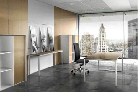 modern corporate office interior decoration concept