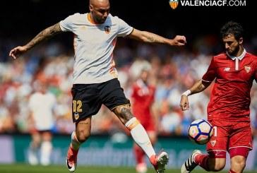 El Valencia y el Sevilla empatan a casi todo en Mestalla (0-0) , por @JordiSanchiss
