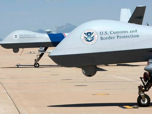 MQ-9 Reaper drones used for U.S. border surveillance. Photo: U.S. Customs and Border Protection