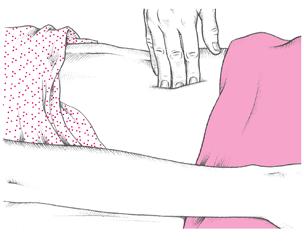 Rebound tenderness – Blumberg's sign