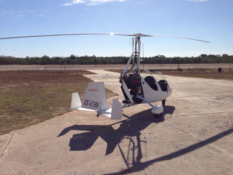 Wild Edge gyrocopter