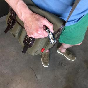 Putting our chapmanbags Fell shoulder bag to work As anhellip