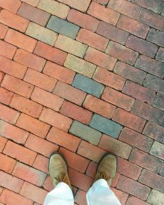 Hit the bricks      suede suedeshoeshellip