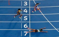 """If Shaunae Miller """"The 400 m Diver"""" Was American #TheDive #Olympics"""