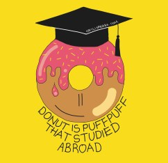Donut Is Just Puff Puff That Studied Abroad