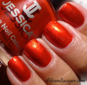 Jessica Magic Spell Swatch Glamarama