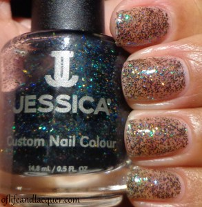 Jessica Platinum Wishes Swatch Glamarama