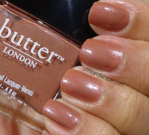 Butter London Aston Swatch