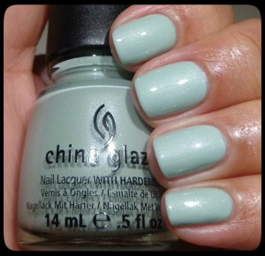 China Glaze Keep Calm, Paint On Swatch