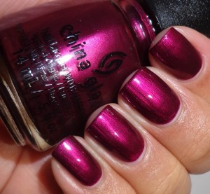 China Glaze Don't Make Me Wine 2