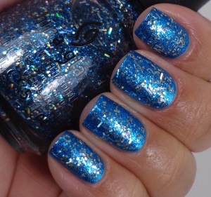 China Glaze Bells Will be Blinging over So Blue Without You 2