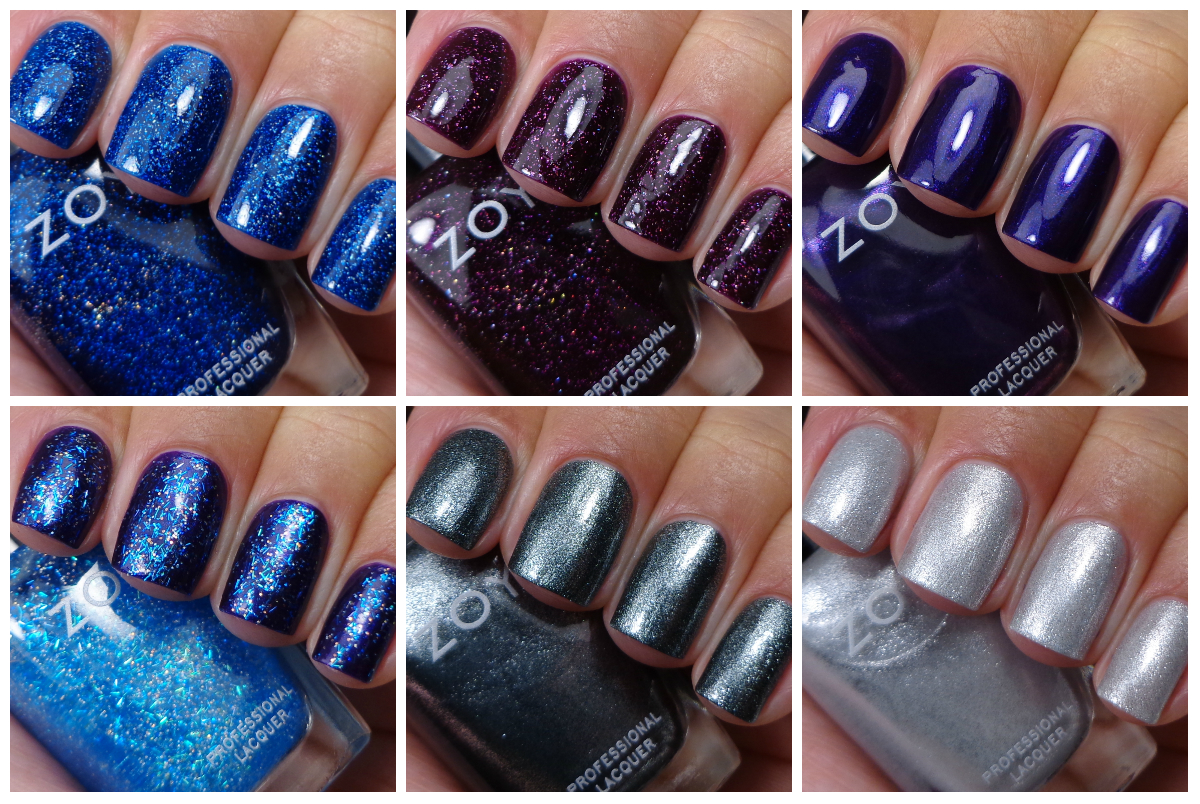 Zoya Zenith Collection - Holiday & Winter 2013