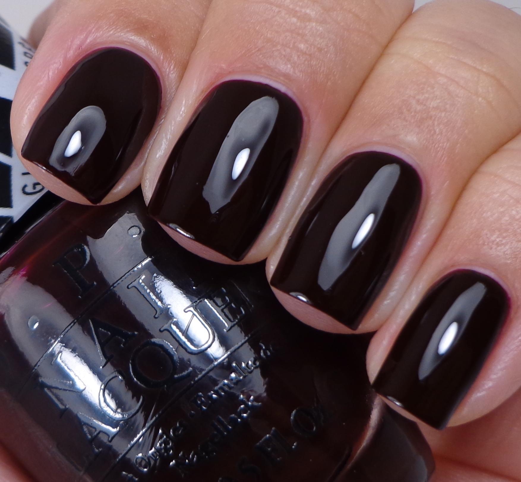 Black Nail Polish Colors: Gwen Stefani By OPI Collection