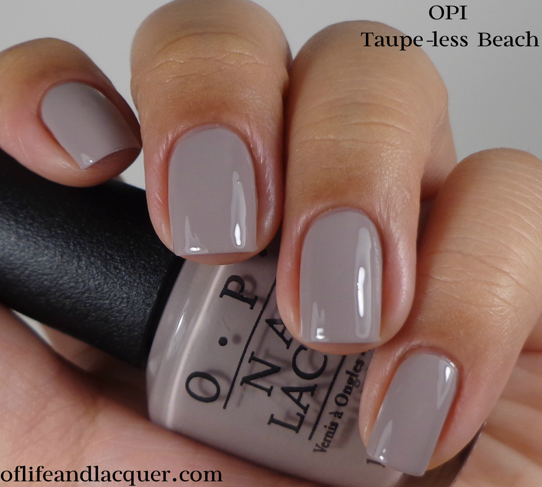 Opi Taupe Less Beach OPI Brazil Collection ...