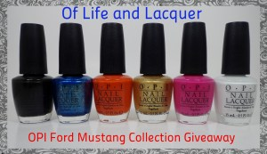 Winner Announced – OPI Ford Mustang Collection