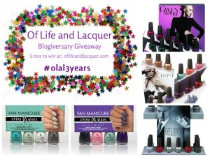 Winners Announced – 3 Year Blogiversary Giveaway