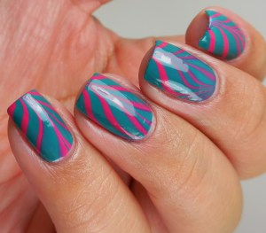 The Lacquer Ring – Watermarble