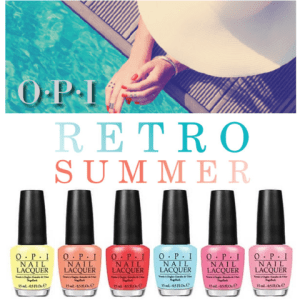 OPI Retro Summer Collection 2016