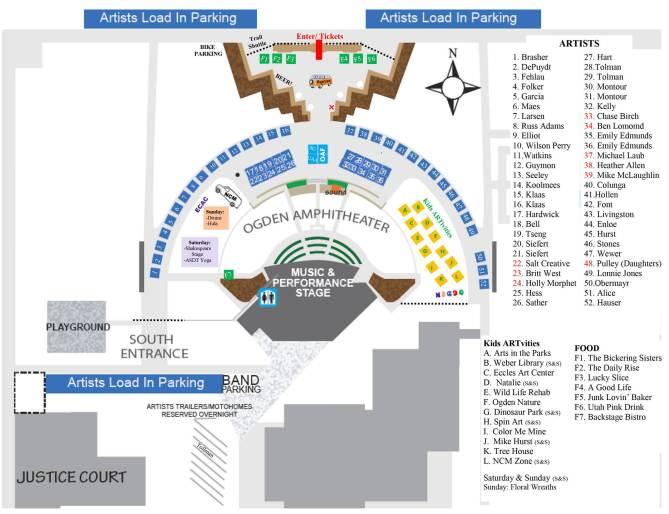 Ogden Arts Festival Map