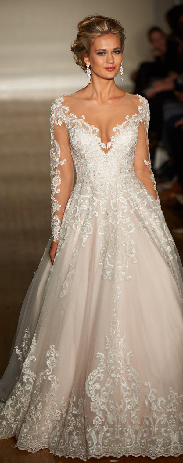 allure wedding dresses spring collection trending wedding dresses a line illusion wedding dresses for trends