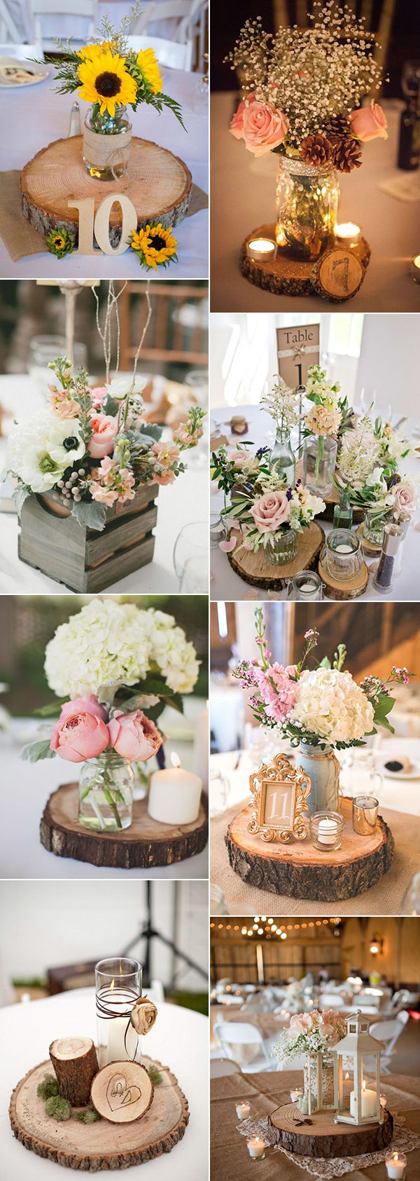 Fascinating 2017 Wedding Ideas Oh Day Ever Wedding Centerpiece Ideas Wedding Centerpiece Ideas Diy Country Rustic Wedding Centerpiece Ideas Wood Centerpieces ideas Wedding Centerpiece Ideas