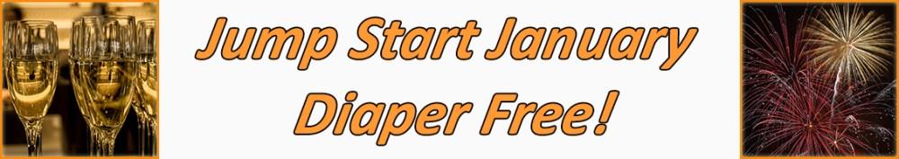 jump start january diaper free banner