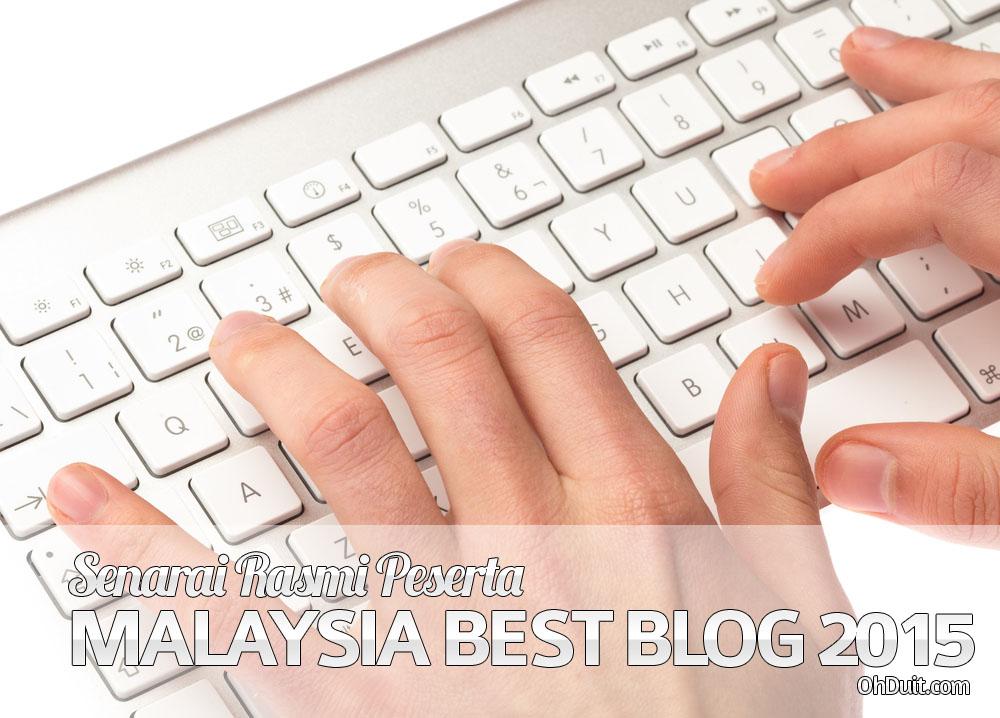 Senarai Peserta Contest SEO – Malaysia Best Blog 2015