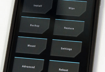 Google Nexus 4 - TWRP Recovery Mode