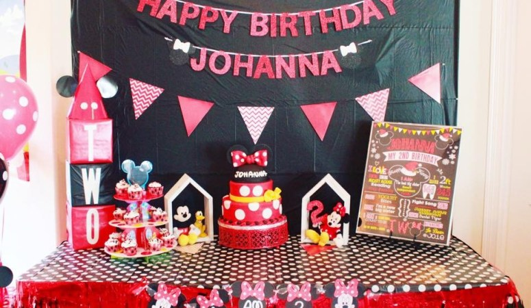 Oh Two-dles – A Mickey Mouse Clubhouse Birthday Party