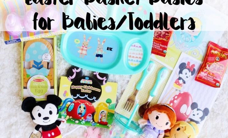 Easter Basket Basics for Babies/Toddlers