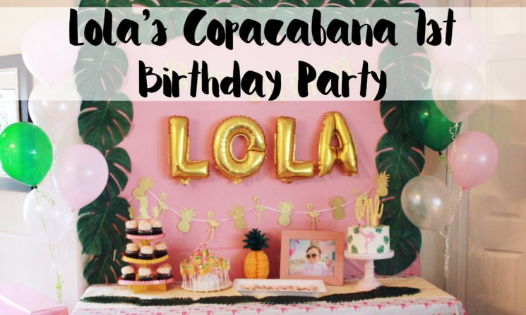 Lola's Copacabana 1st Birthday Party