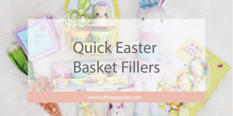 Quick Easter Basket Fillers