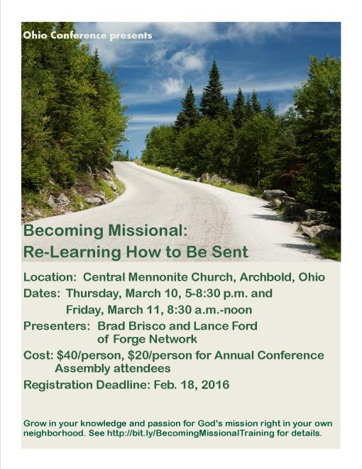 Becoming Missional Poster