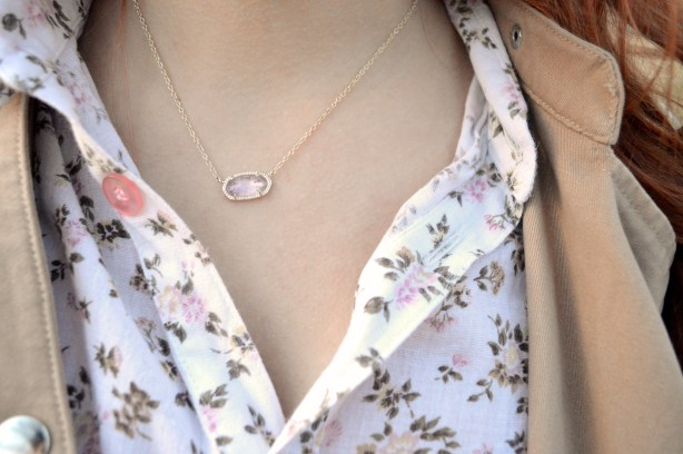 Oh Julia Ann - Kendra Scott Elisa Pendant Necklace and Carey Earrings - Outfit (3)