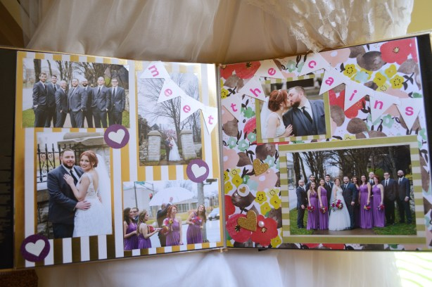 Oh Julia Ann - What to do with my wedding photos - crafts and projects diy scrapbook photo book magnets decor (4)