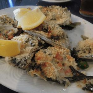 Oysters Rockefeller at Bartlett's