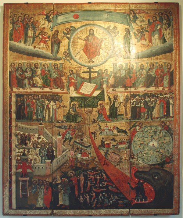 Icon of the Last Judgement