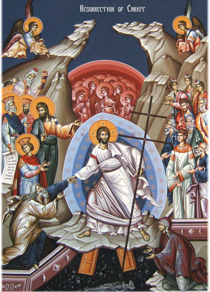 1 Resurrection Icon