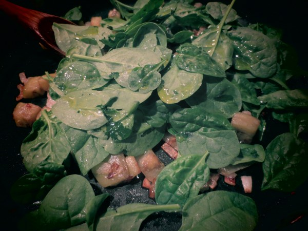 2013105 eggplant spinach pasta5