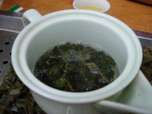 Tea Time in Bada Forest of Taiwan