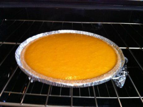 Making of Paleo Pumpkin Pie